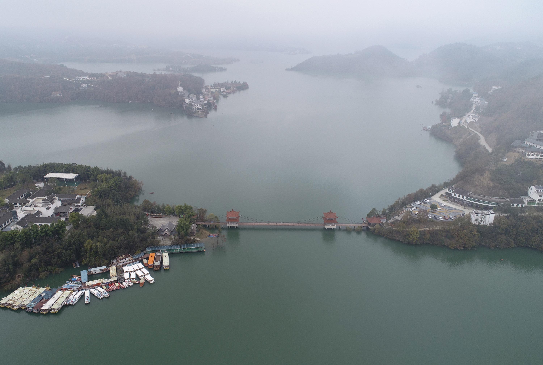 CHINA-SHAANXI-ANKANG-LAKE SCENERY (CN)