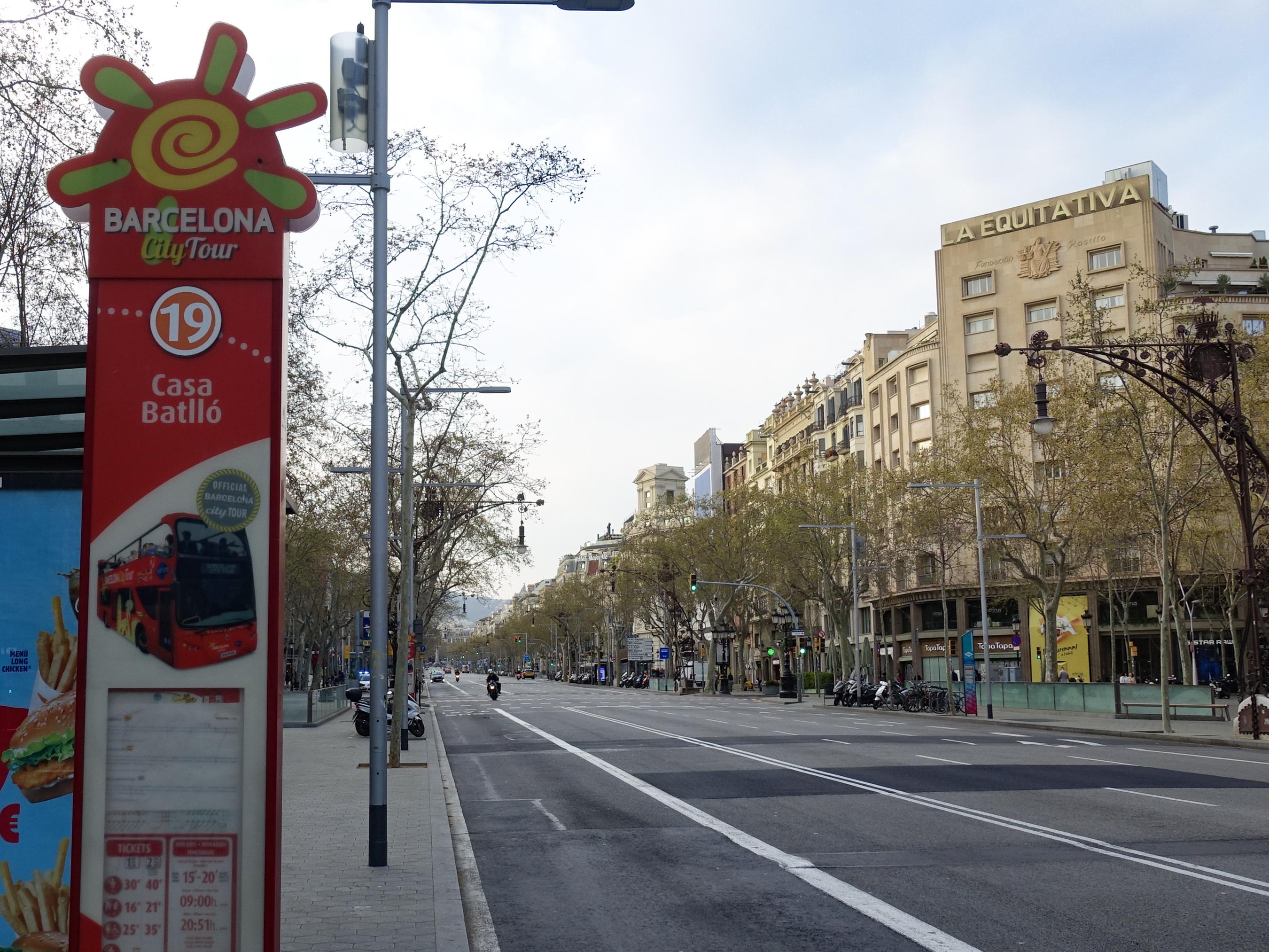 SPAIN-BARCELONA-COVID-19-STATE OF ALARM-LOCKDOWN
